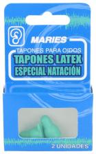 Tapones Oidos Maries Latex Espuma Natacion 2U - Varios