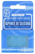 Tapones Oidos Silicona 6U - Varios