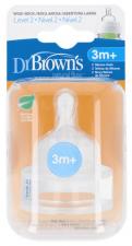 Tetina +3 Meses B/Ancha Dr.Brown'S - Varios