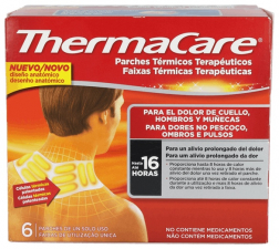 Thermacare Cuello Hombros Y Muñecas Parches Term - Pfizer