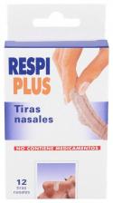 Tiras Nasal Respiplus Talla Unica 12Unidades - Varios