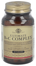 Ultimate B+C Complex 30 Comp. - Solgar