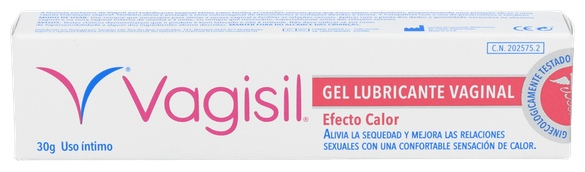 Vaginesil Gel Hidratante Vaginal-Efecto Calor 30 gr.