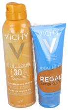 Vichy Ideal Soleil Spf 30 Hidratante Spray Transpirante Regalo After Sun