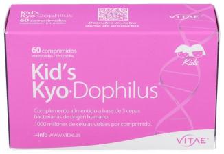 Vitae Kids Kyodophilus 60 Comprimidos - Farmacia Ribera
