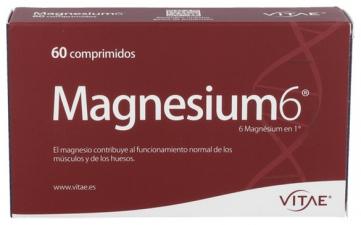 Magnesium 6 60 Comprimidos Vitae - Farmacia Ribera