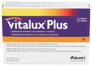 Vitalux 10 28 Cápsulas
