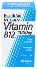 Vitamina B12 1.000 ?g 100 Comprimidos - Health Aid