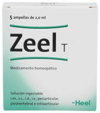 Zeel T 5 ampollas 2 ml